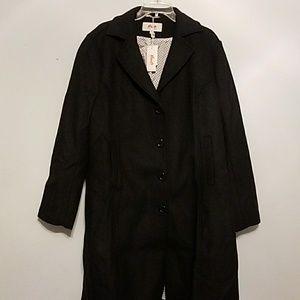 NWT Haute Edition 2X wool blend maxi walker coat